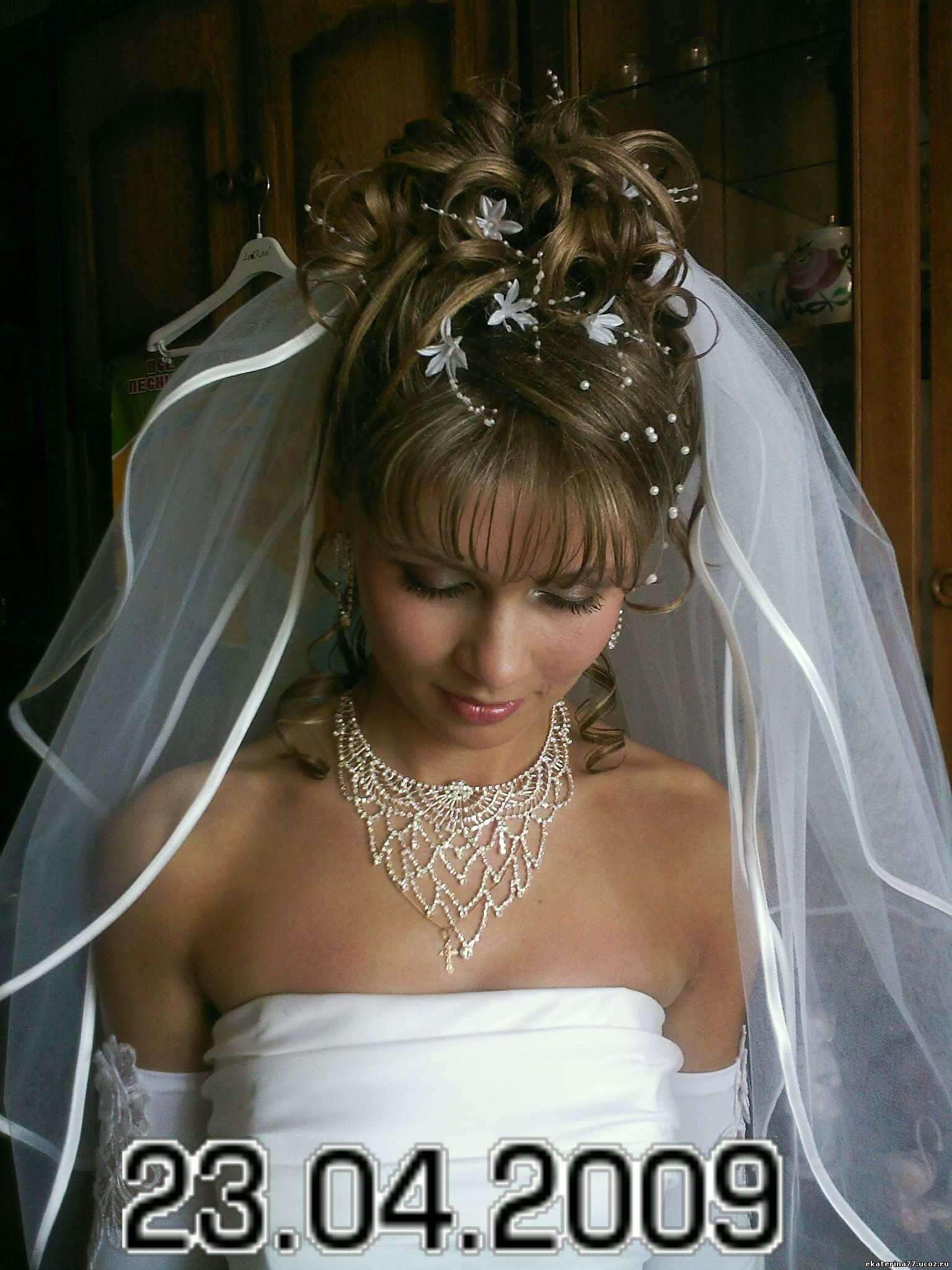 Фото вечерние свадебные прически и