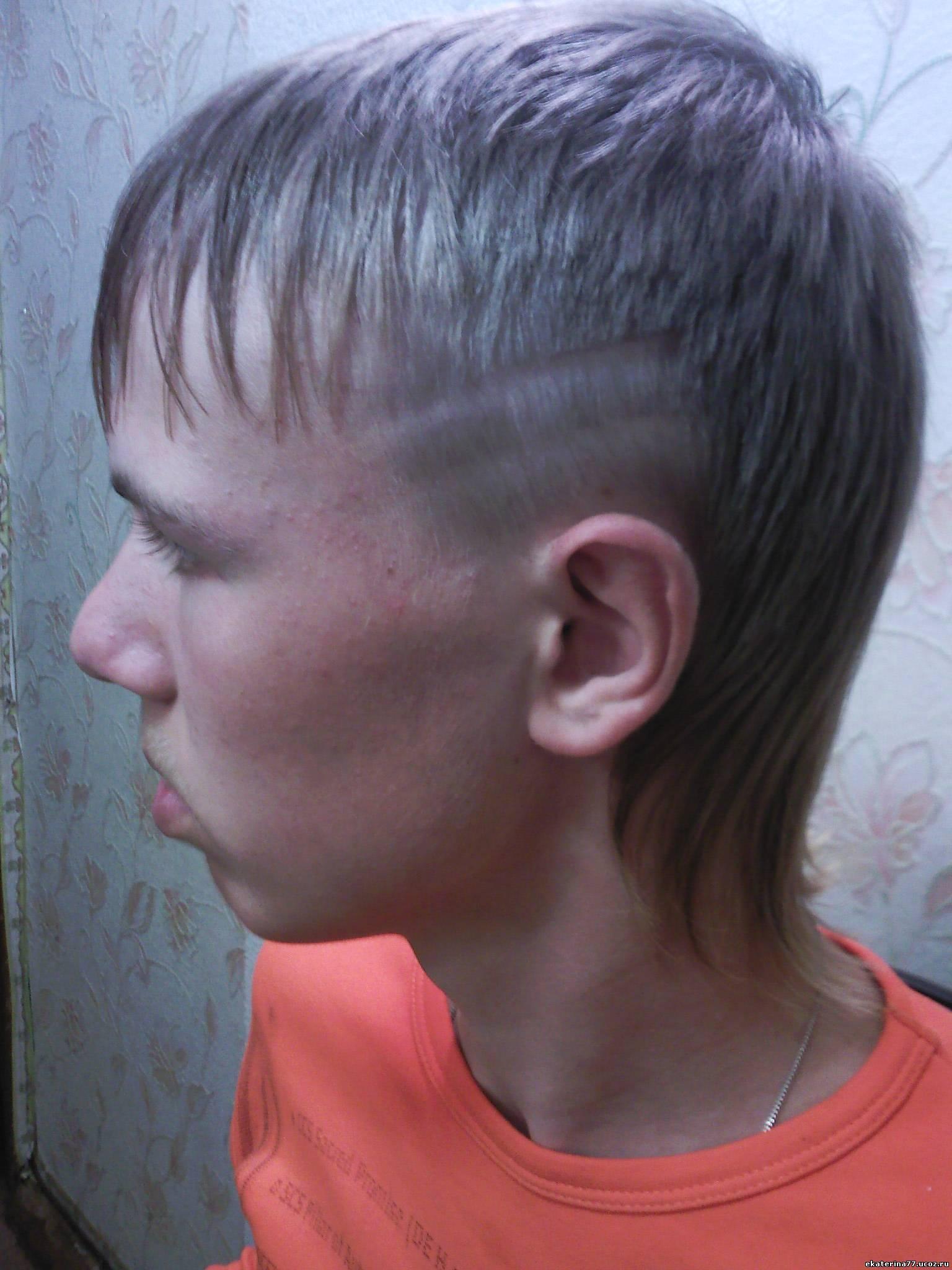 Как подстричь ребенка машинкой дома 38