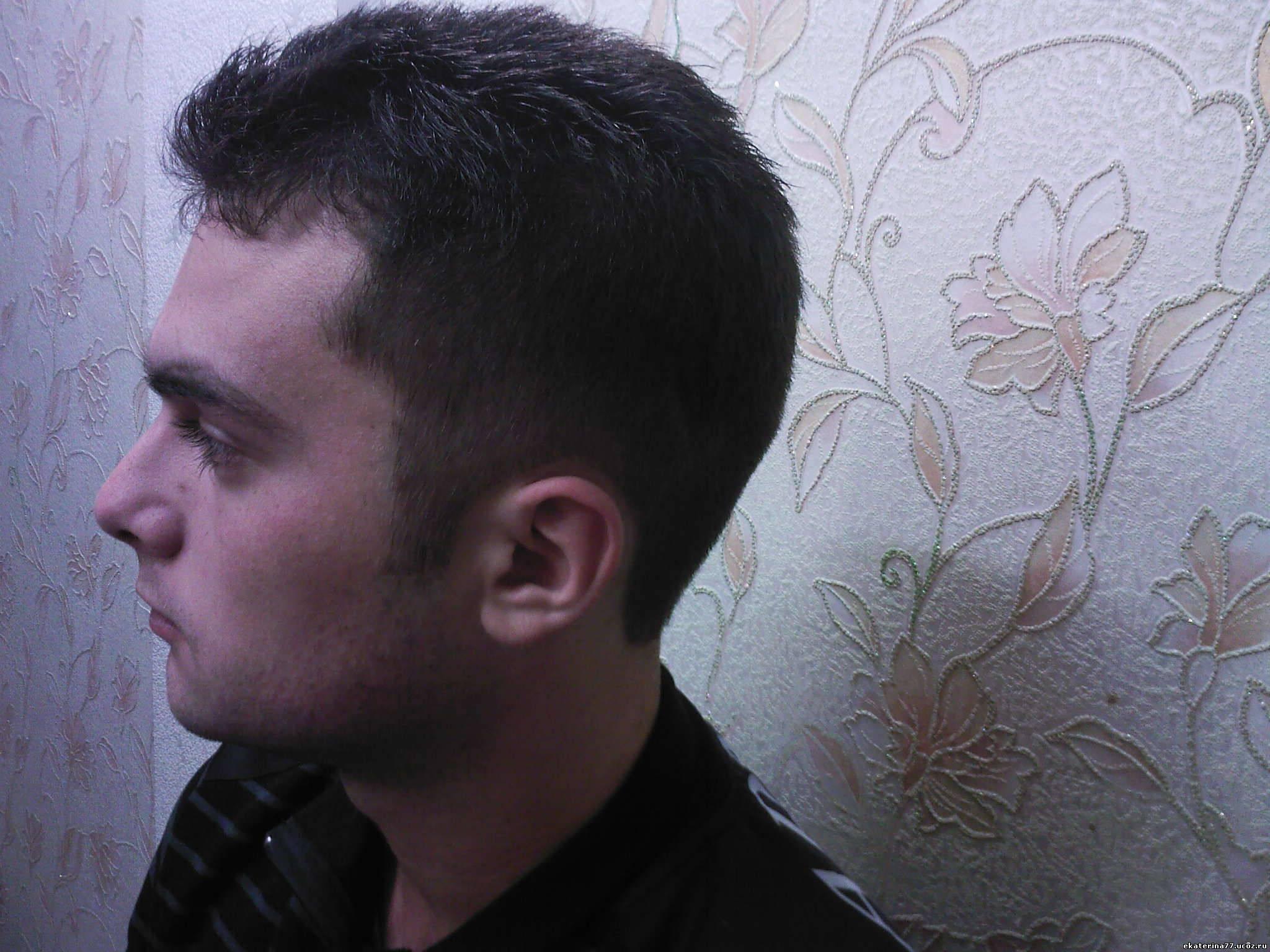 Фото мужских причесок если лысина